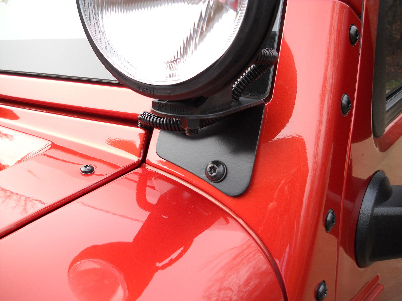 2007-18 WINDSHIELD LIGHT BRACKETS