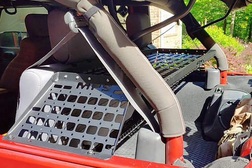 "07', 18' JKU Jeep Rear Molle Tray ""hard top version"""