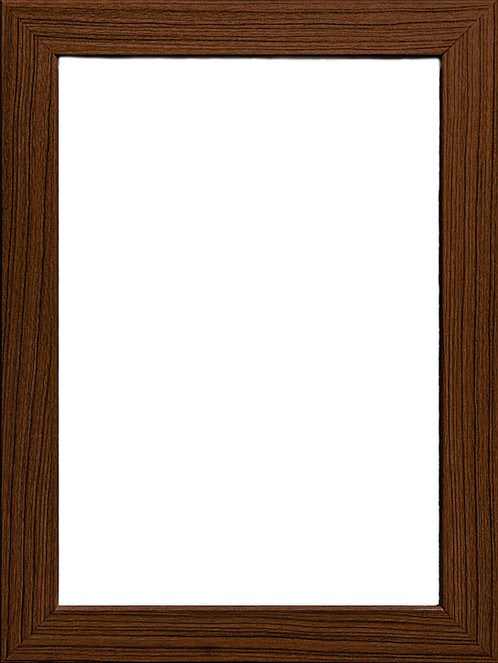 F 182 Dark Wood Frame A0