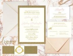 Myles-Washington Wedding Suite Mockup