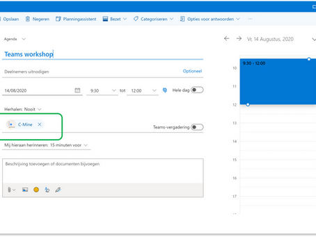 Coole features in Outlook online