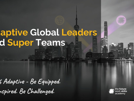 100% Adaptive Global Leadership E-Learning Program co-created by TCP and FWSA