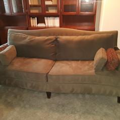 contemporary taupe sofa