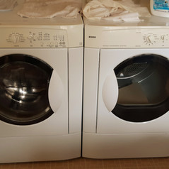 full-sized Kenmore washer/dryer