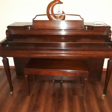 Gulbransen upright piano Thea's Vintage Living Tigard Oregon Estate Sale December 8th 9th 2018