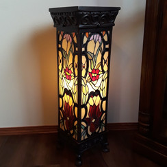 floor lamp stained glass