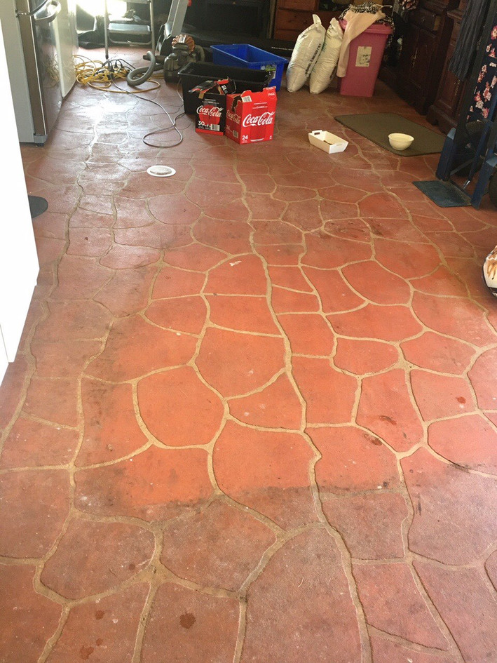 Outdoor Tiles w/ Tile & Grout MSSS