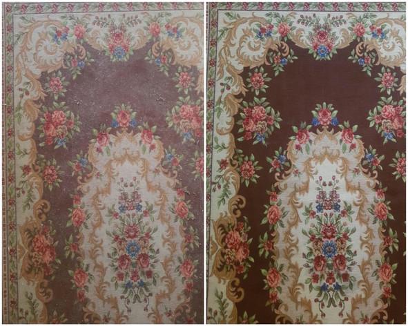 Rug After Carpet Shampooer