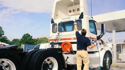 tractor trailer wash