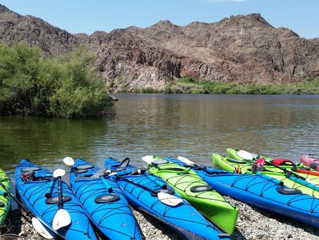 Kayaking in The Black Canyon