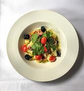 Octopus Salad at Cafe Matisse