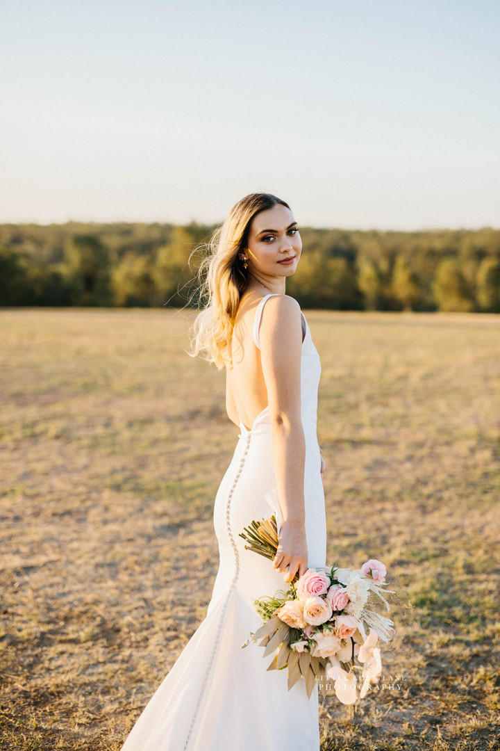 minimalist bride brisbane