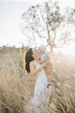 sunset family photos brisbane