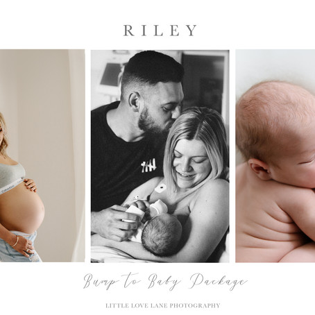 Riley - Bump to Baby Package | Brisbane Newborn Photographer