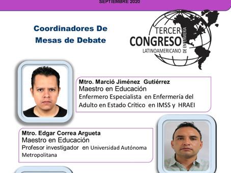 COORDINADORES DE MESAS DE DEBATE