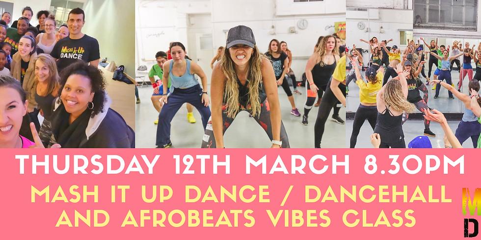 MIU Dancehall and Afrobeats Vibes Class in Milton Keynes