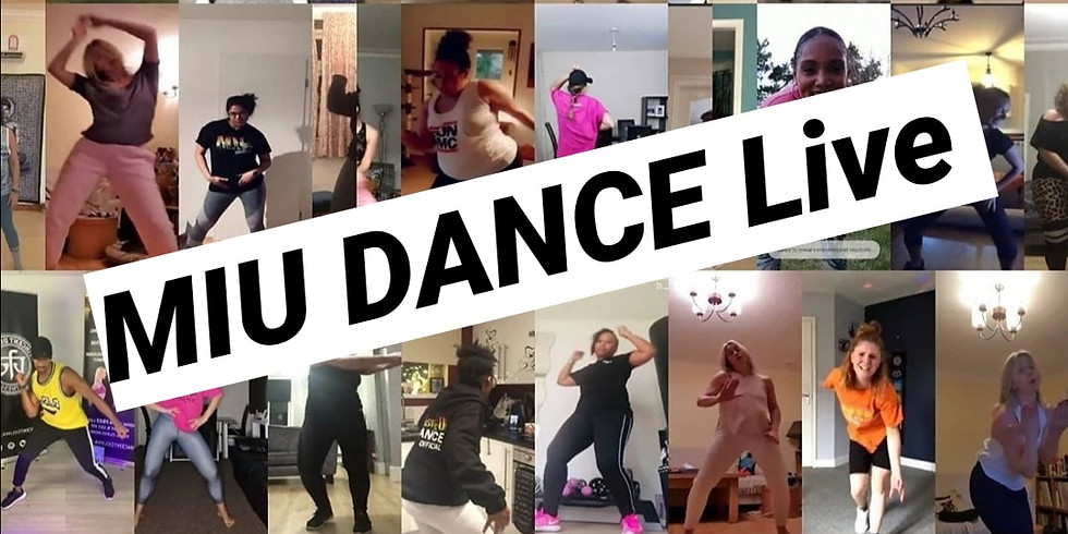MIU DANCE Global Online Classes via Facebook