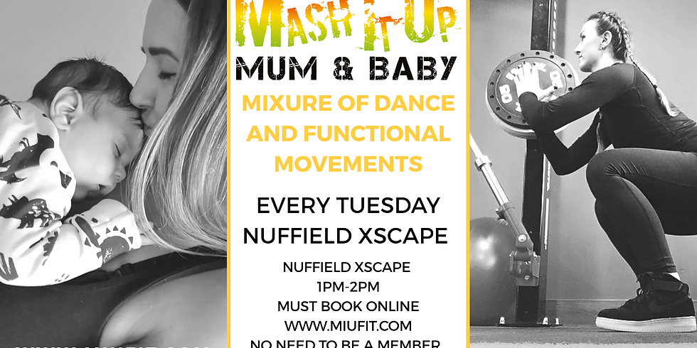 MIU MUM AND BABY Dance And Functional Movements Class Milton Keynes