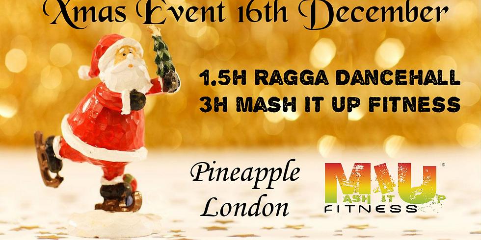 MIU Dancehall Xmas Event At Pineapple London