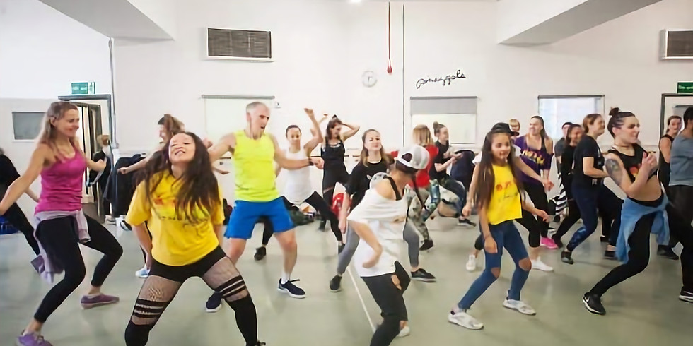 Manchester, Mash It Up Dancehall Masterclass With Sarah Hobson