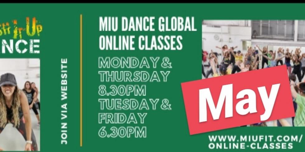 MIU DANCE Global Online Classes FB Group May