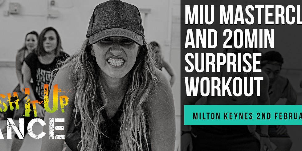 MIU Dancehall / Afrobeats Blachut And 20min Surprise