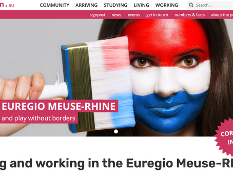 New online portal for newcomers and cross-border commuters in the Euregio Meuse-Rhine
