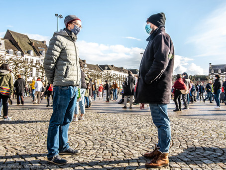 Klimaat Alarm protest in Maastricht