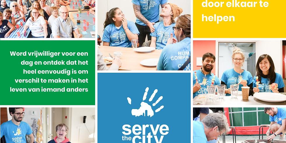 Serve the City – community dinner