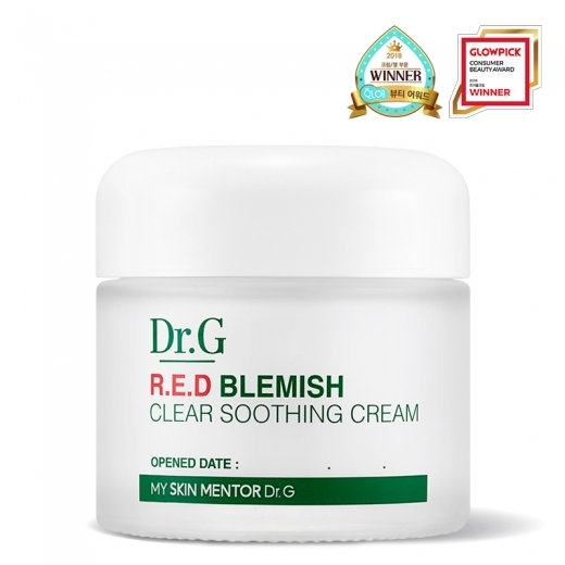 Dr.G植物褪紅修護面霜 R.E.D Blemish Clear Soothing Cream