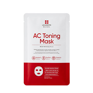 LEADERS 控油舒緩修護面膜(1盒10片) AC Toning Mask