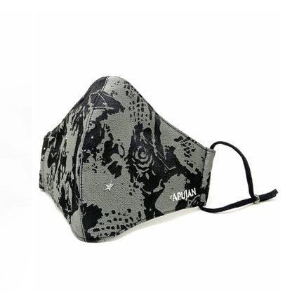 【Xpure X APUJAN聯名款】 防霾緹花布⼝罩 Anti-Pollution Mask -Xpure X APUJAN Type