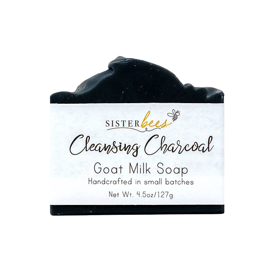 Sister Bees -備長炭山羊牛奶皂 Charcoal Goat's Milk Soap