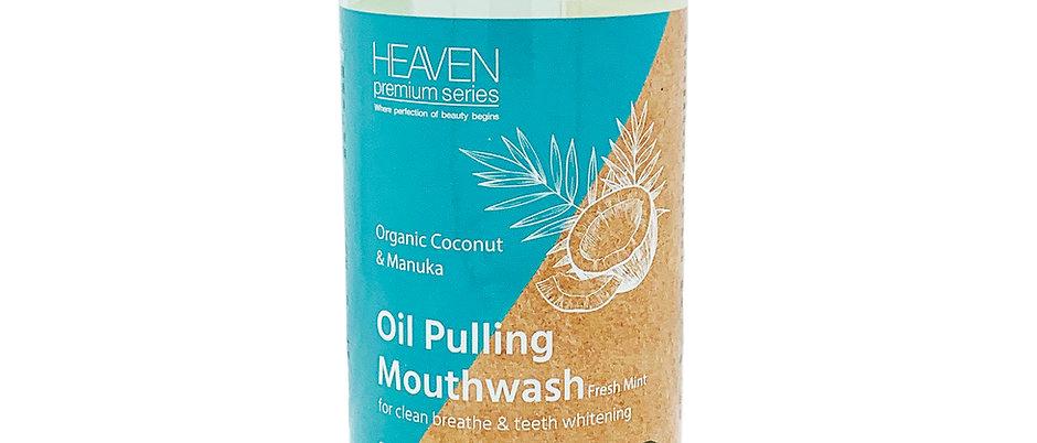 HEAVEN天堂 - 排毒亮齒椰子漱口油 (清新薄荷味) Oil Pulling Mouthwash Fresh Mint