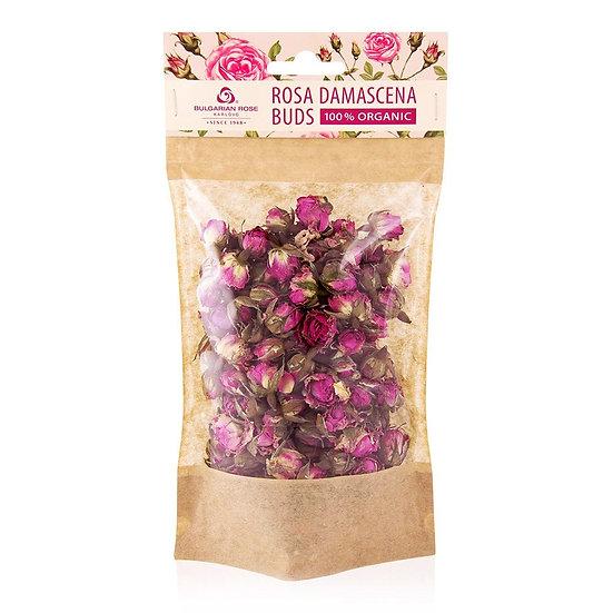 保加利亞玫瑰 - 100% 有機玫瑰花蕾|玫瑰花茶|保加利亞 Rosa Damascena Buds 100% Organic