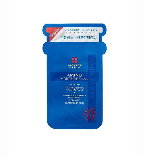 LEADERS 氨基酸補水面膜(1盒10片) Amino Moisture Mask
