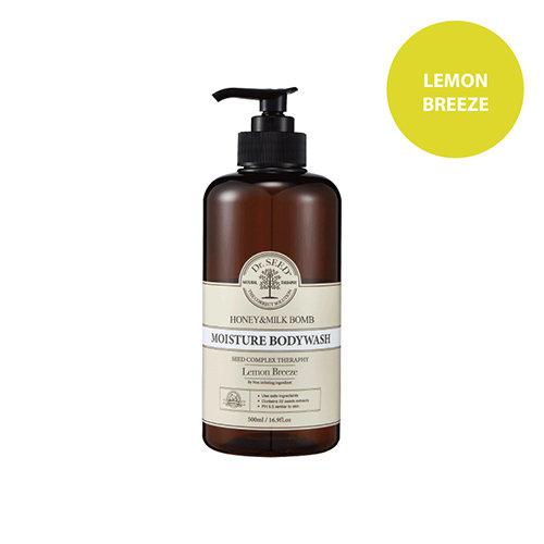 Dr.SEED - 蜂蜜牛奶舒敏沐浴露 (香檸味) Honey & Milk Bomb Moisture Body Wash Lemon Breeze