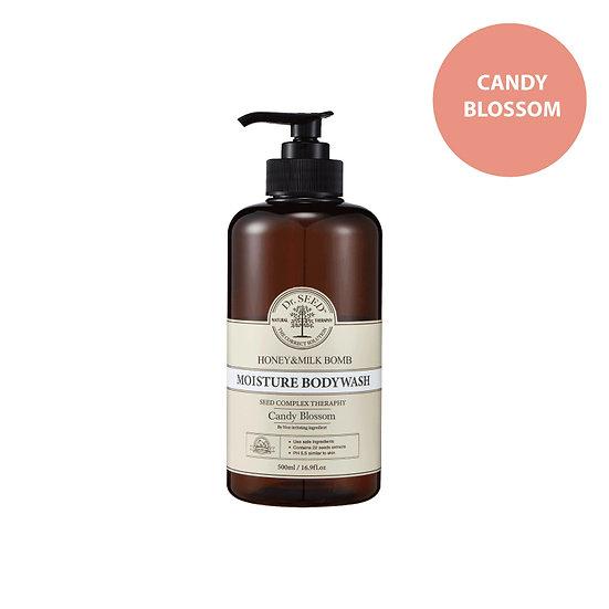 Dr.Seed - 蜂蜜牛奶舒敏沐浴露 (甜夢香) Honey & Milk Bomb Moisture Body Wash Candy Blossom