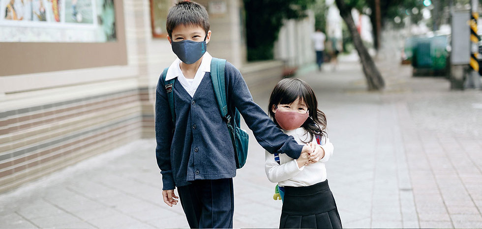 Xpure淨對流 抗霾PM2.5布織口罩-兒童款  Anti-Pollution Mask -Basic Type for Kids​​
