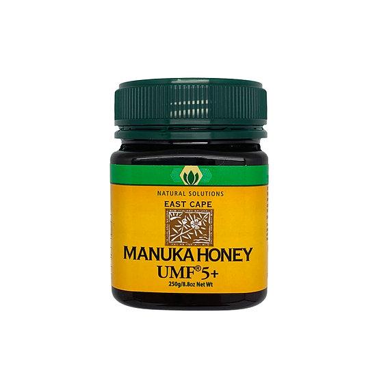Natural Solutions - 紐西蘭麥蘆卡活性UMF5+蜂蜜 250g/500g