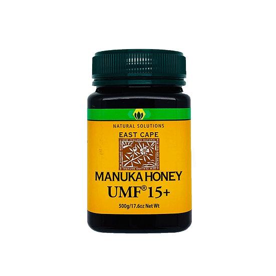 Natural Solutions - 紐西蘭麥蘆卡活性UMF15+蜂蜜 500g