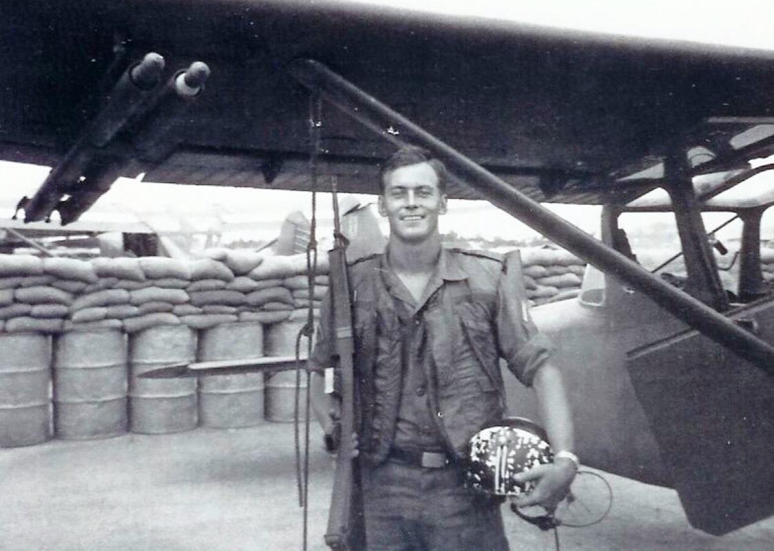 Greg Young, Pleiku Vietnam 1967