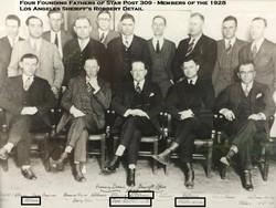 1928 LASD Robbery Detail