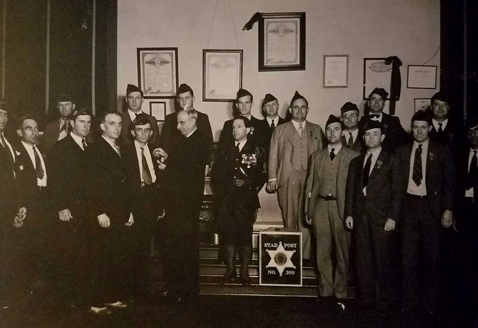Star Post 309 Meeting 1932