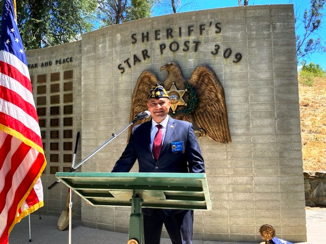 Post Commander Ernie Bille