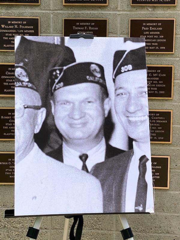 Post Commander Bob Bollong