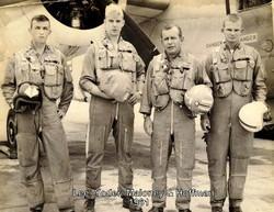 Mike Lee (far left) 1961