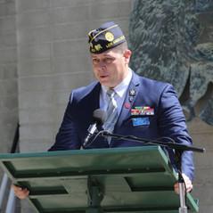 Post Commander Patrick Gadut