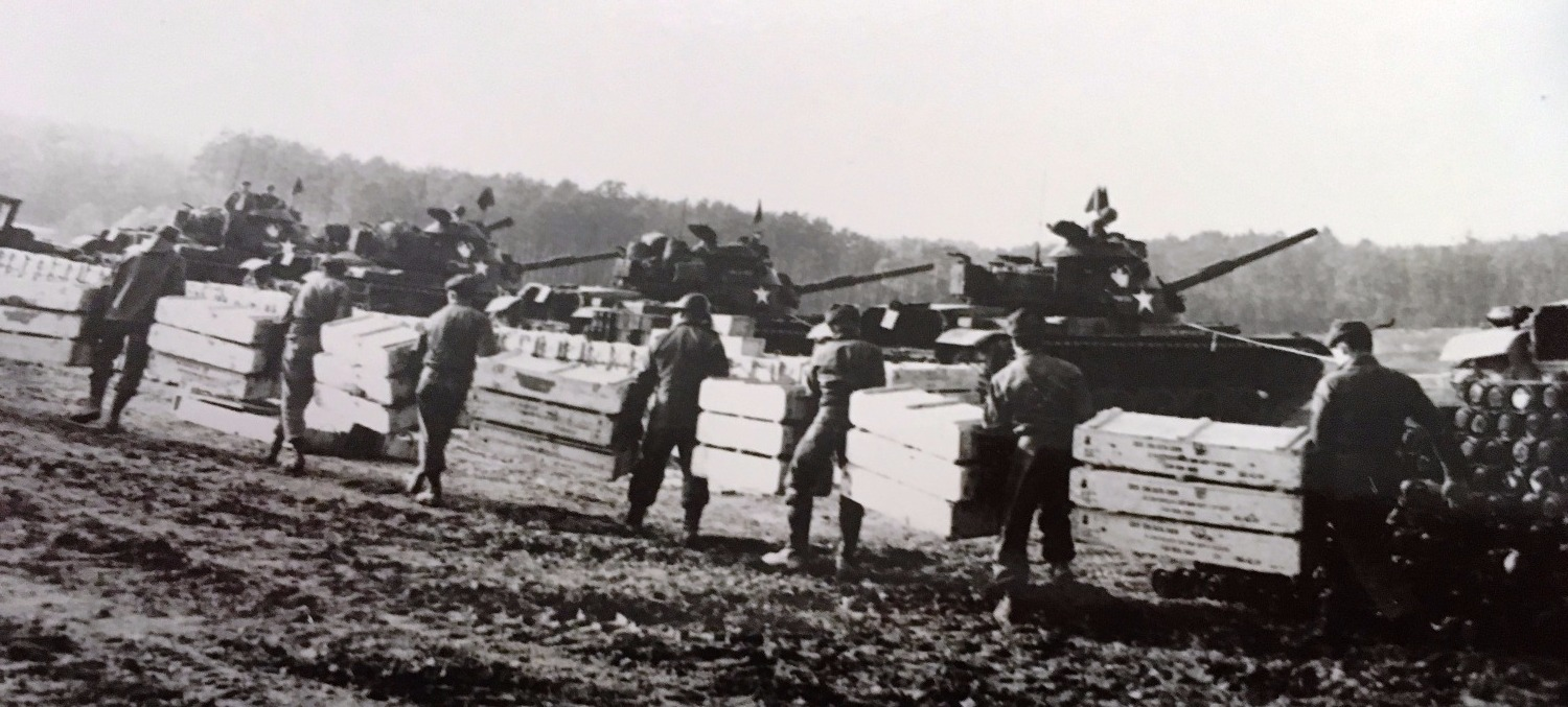 Loading M-60 Tanks Germany 1964