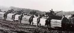 Loading M-60 Tanks Germany 1964
